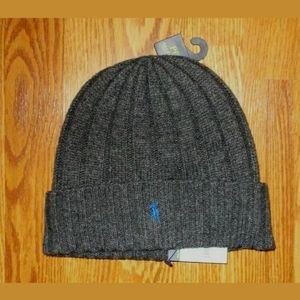 NWT POLO RALPH LAUREN mens winter beanie hat